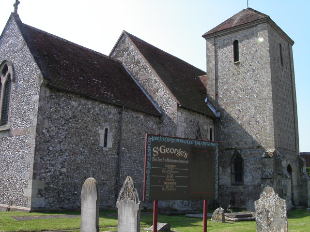 St George's Church. Harnham
