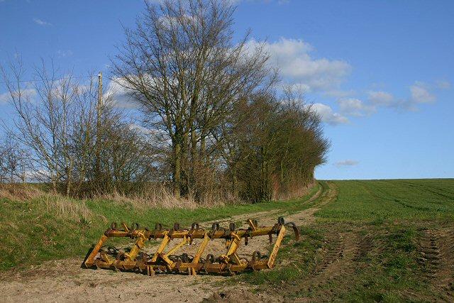 Track near Poslingford