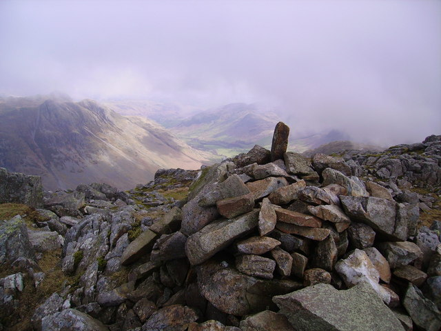Summit Cairn, Bowfell North Top