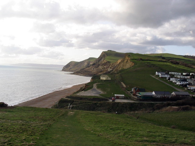 Eype's Mouth from the cliff path