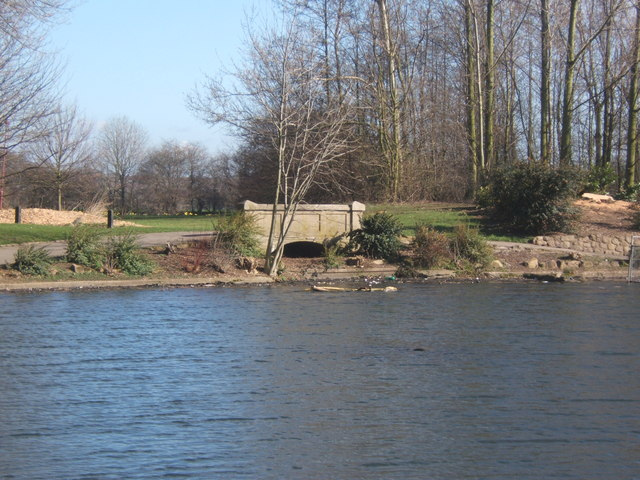 Part of Alvaston lake, Alvaston,Derby
