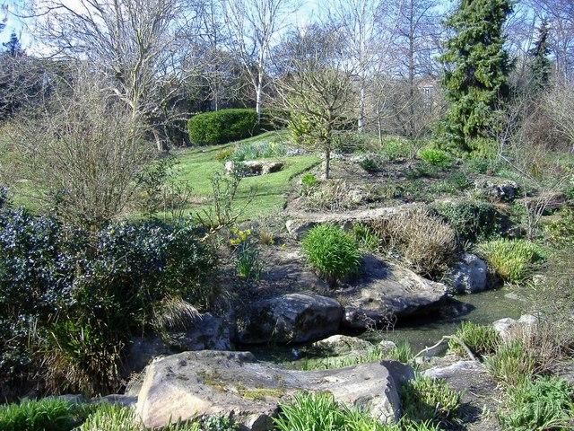 Rockery, Queen's Park, Swindon
