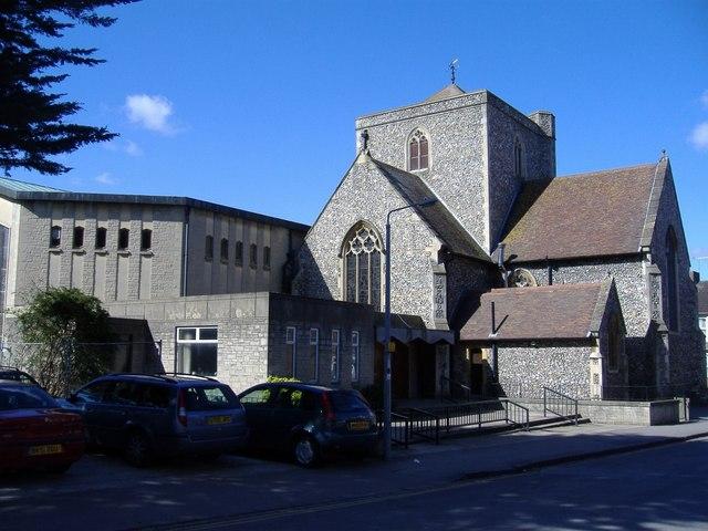 Holy Rood church, Swindon