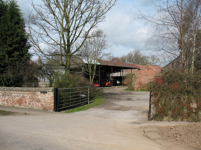 Farm entrance Lower Dunsforth