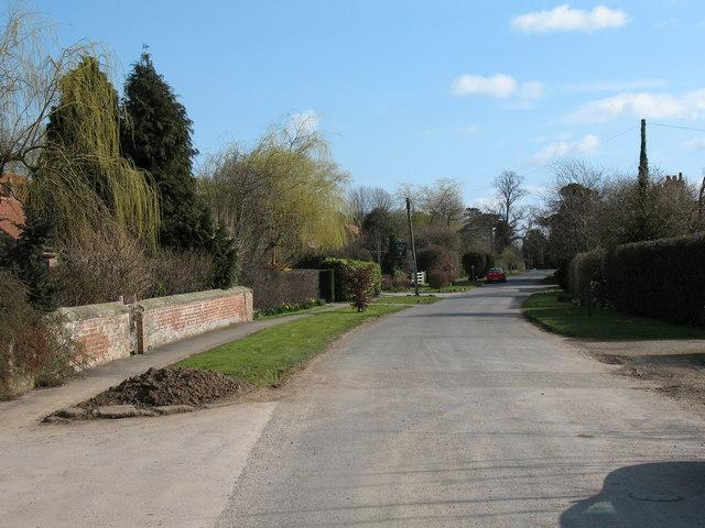 Village Street, Lower Dunsforth.