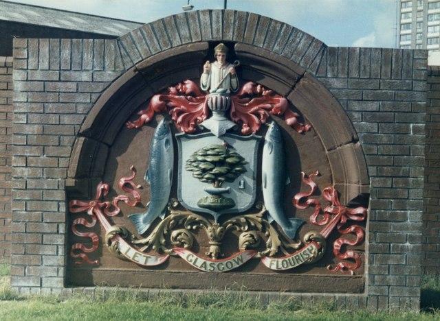 Glasgow Coat of Arms, Port Dundas Road, Glasgow