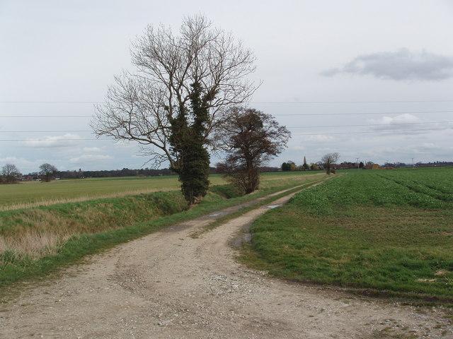 Lane off Brownmoor Lane