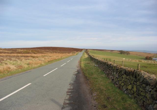 Lane near Noon Sun farm