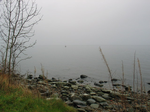 Misty day on Loch Fyne.
