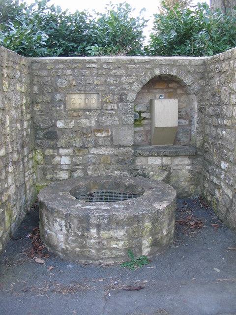 The Millennium Well at Priston
