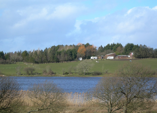 Martnaham Loch at Jelliston