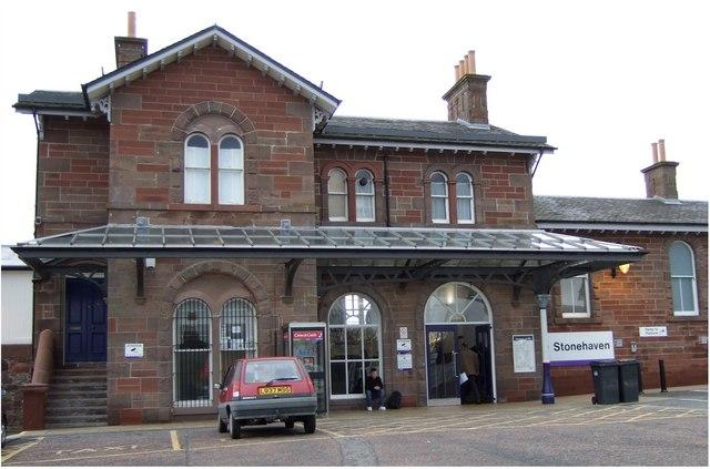 Stonehaven railway station (2007)