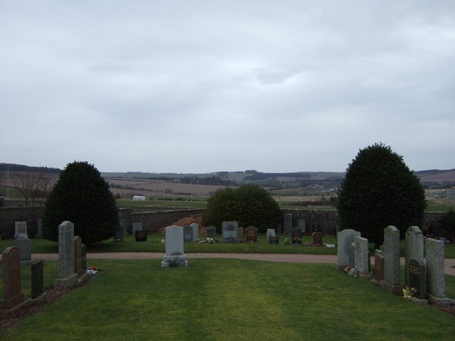 View north from cemetery