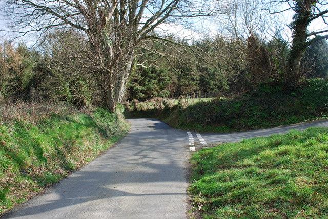 Cyffordd - Junction Nant y Gledrydd