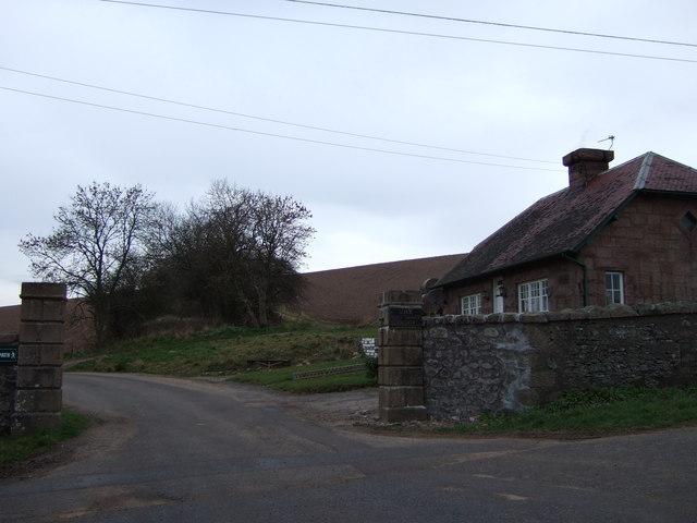 East Lodge. Ury House