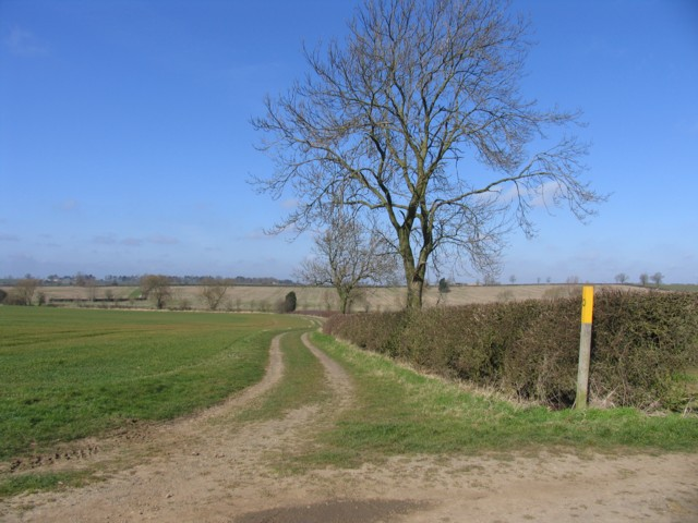 Public Footpath to Burton Overy