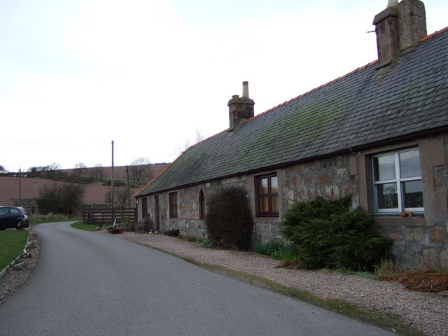 New Mains of Ury cottages