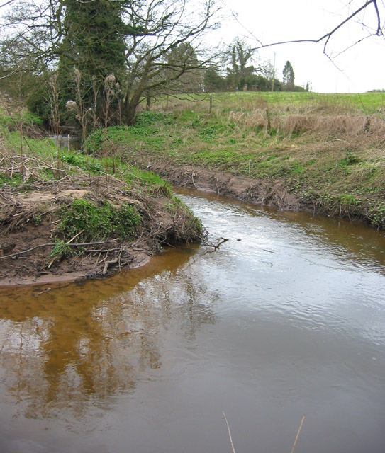 Wistaston Brook, east of Marshfield Bridge