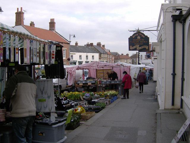 Wednesday, market day - Kirkbymoorside