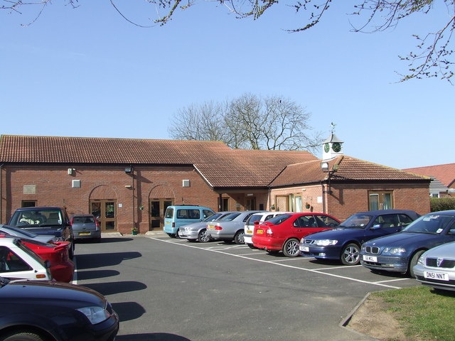Leasingham Village Hall.