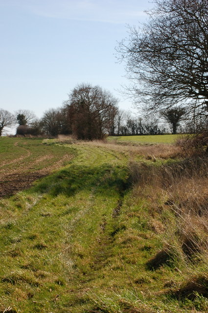 Footpath south of Low Common
