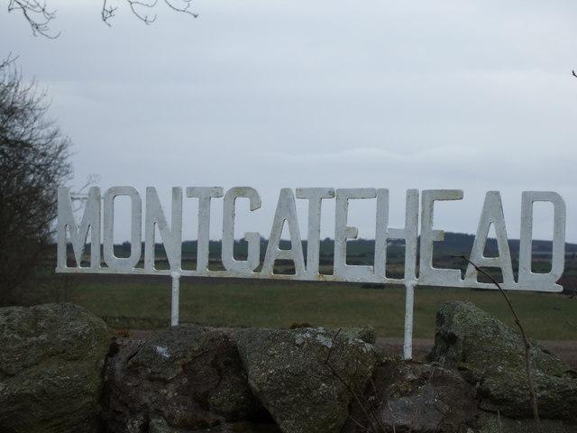 MONTGATEHEAD sign