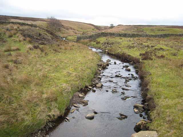 Eller Beck on Scargill Low Moor