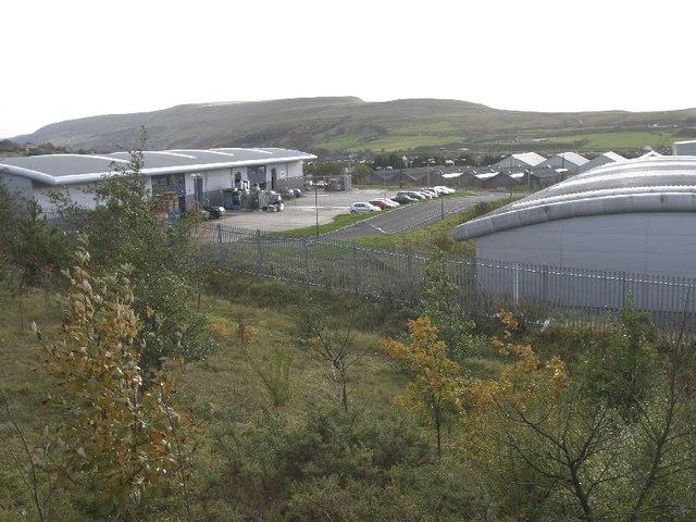 Barley Fields Industrial Estate, Brynmawr