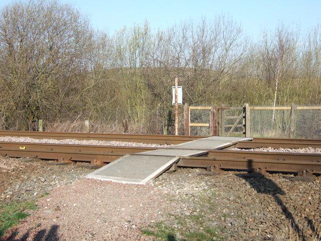 Railway Crossing at Kirkthorpe