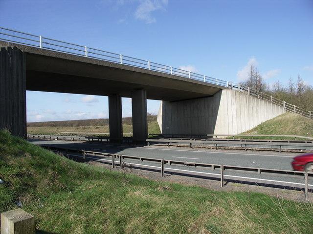 Bridge over A14.