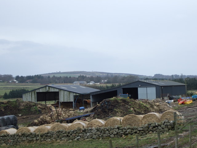 Farm buildings by South Cookney