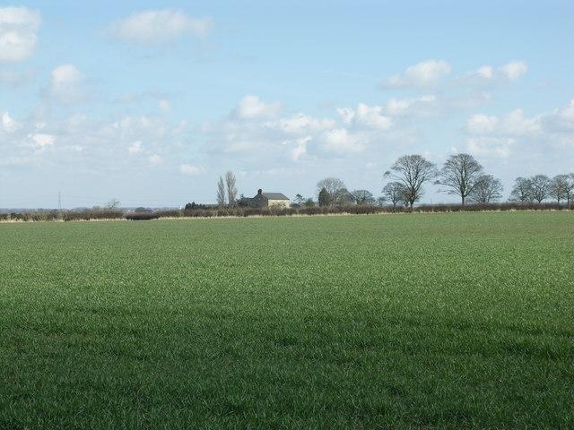 View towards Harrington Lodge.