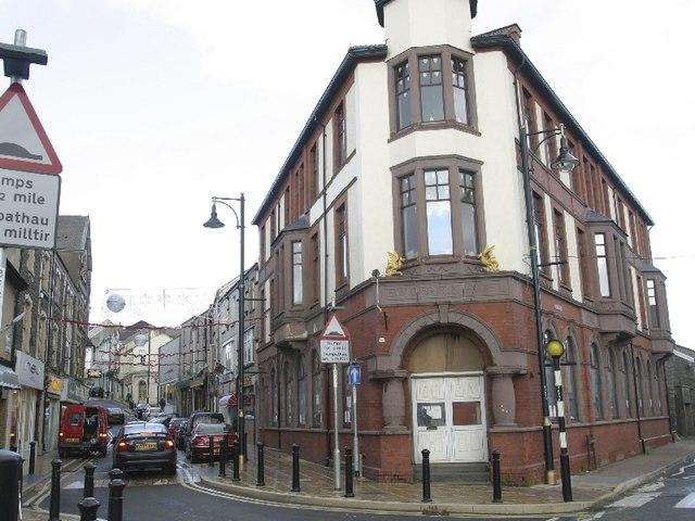 New Griffin Hotel. Bailey Street, Brynmawr