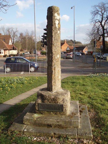 Medieval roadside cross