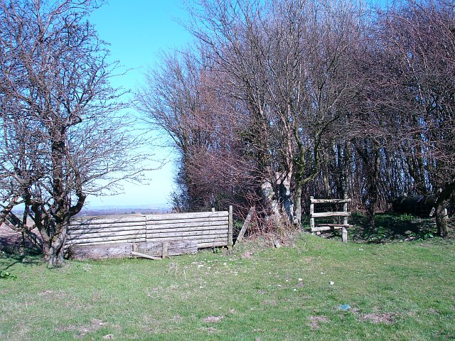 Stile and horse jump