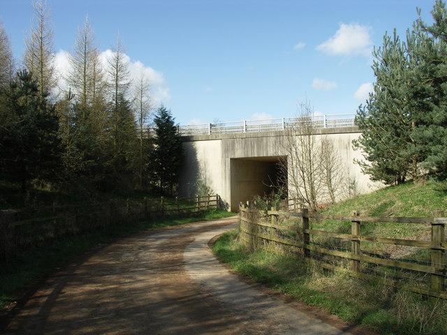 Underpass under A14.