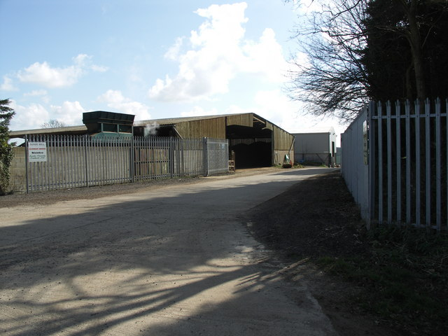 Works Entrance at Sandy Hill Farm.