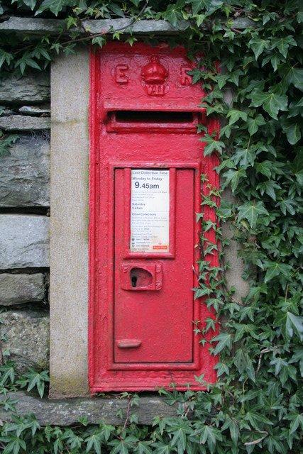 Edward VII Postbox, Mill Bridge