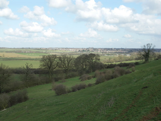View towards Rothwell.