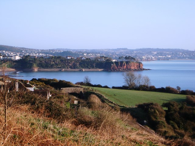 Sugar Loaf, view over towards Paignton Harbour