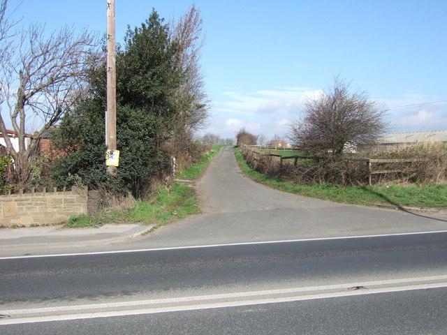 Croft Head Lane, Warmfield