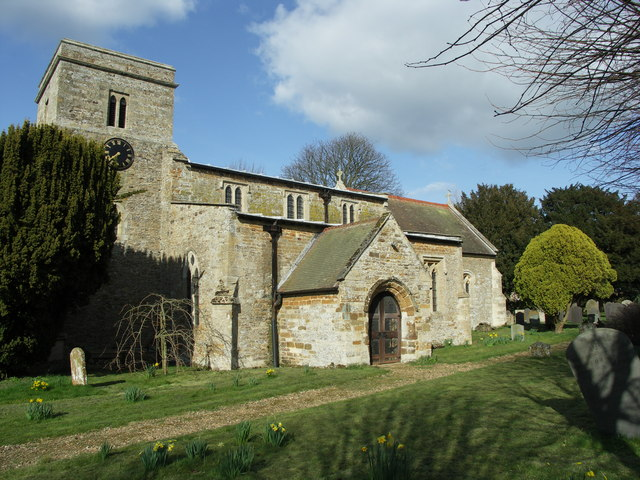 St. Catherine's Church at Draughton.