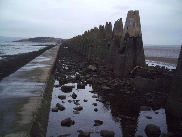 WW2 Anti-submarine fence