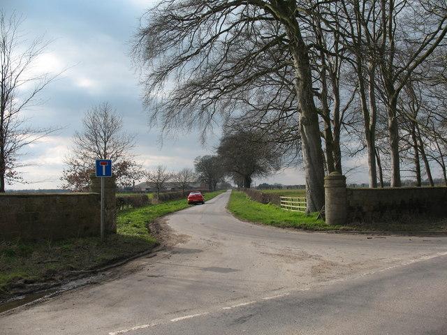 Hall Lane, Myton