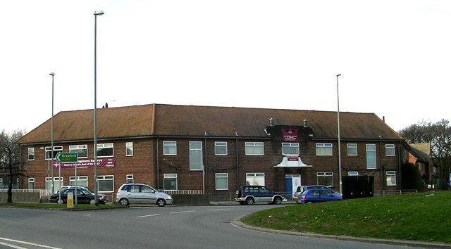 Parachute Regiment - T.A. Barracks - Bradford Road