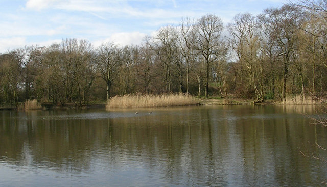 Woodhall Lake - The Blue Lagoon