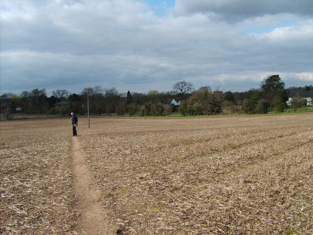 Reinstated Footpath