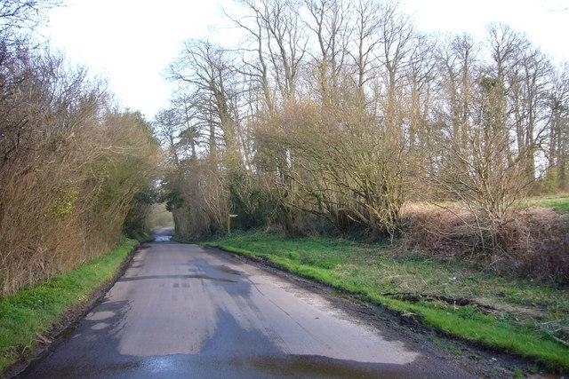 Portchester Lane, Nr Southwick