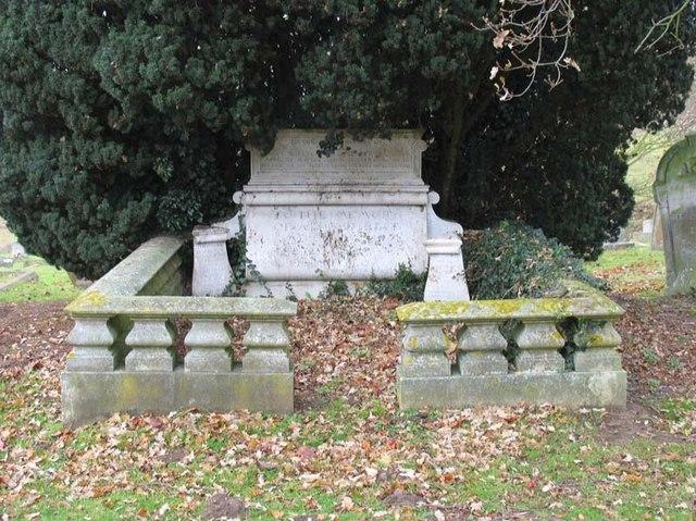 St Peter, Tewin, Herts - Gravestone