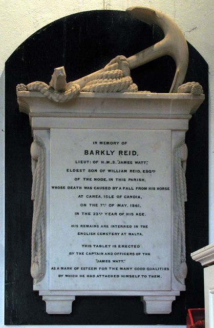 St Giles, Codicote, Herts - Wall monument
